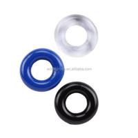 Best selling cheap silicone Delay Ejaculation strong vibration cock ring
