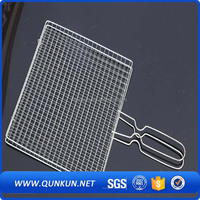 Hot sale!!! iron bbq grill expanded metal mesh/ folding bbq grill/ bbq cooking grids
