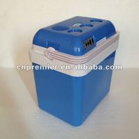 hot seller 24L mini portable car cooler box refrigerator,fitted for 32coke cans