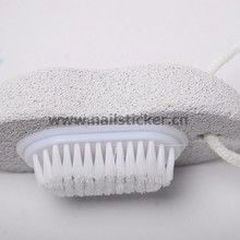 Pumice stone pedicure foot file works scraper feet grater pumice stone with file heel smoother