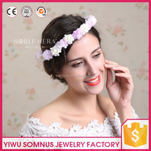 Wonderful white and purple high quality flower extract of crown of thorns wholesale bridal tiara corwn