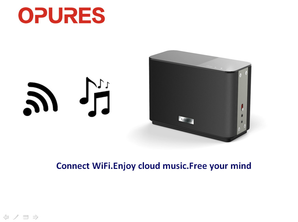 Global market OPURES WiFi HiFi speaker product independent distributor opportunities