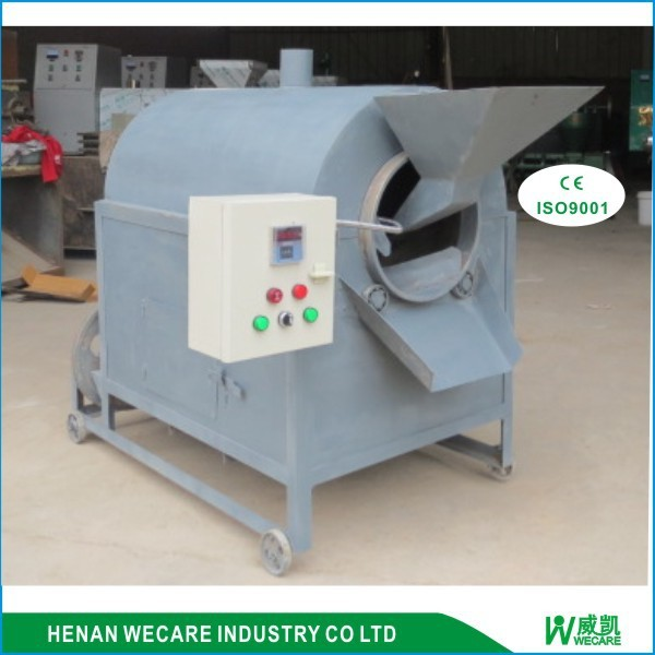 factory price commercial peanut rotary drum roaster for sale/peanut cooking machine