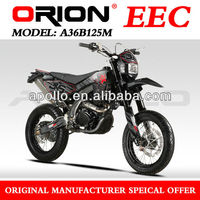 China Apollo ORION EEC 125cc EEC Motard On Road motorcycle Street Bike (A36B125M New 17/17)