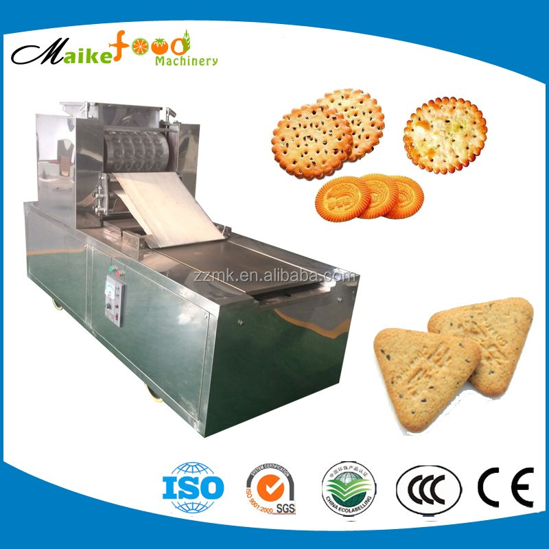 2016 industrial small scale biscuit machine