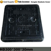 300x300 Square SMC Manhole Cover For Sale/Inspection Manhole Cover From Hongda
