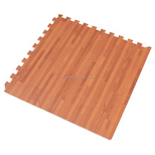 Cork Grain and Bamboo Grain Interlocking Foam Anti Fatigue Flooring Mats
