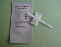 Easy check one step rapid saliva alcohol test