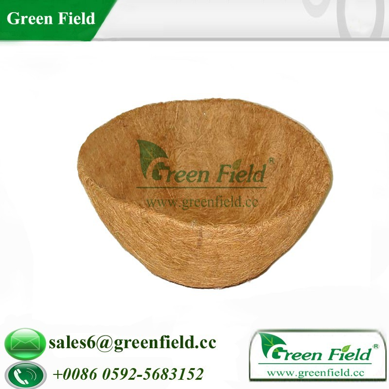 Garden biodegradable coco mat basket liners,basket liners