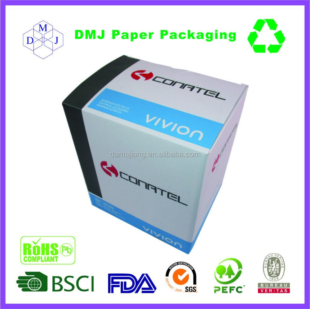Pre-glued high quality cheap price factory custom auto lock bottom packaging box