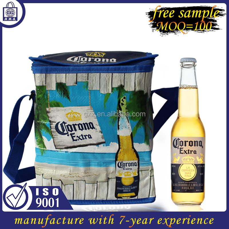 Free sample manufacture Latest ice bag bulk wholesale insulated cooler bag