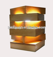 wholesale lighting wooden lampshade