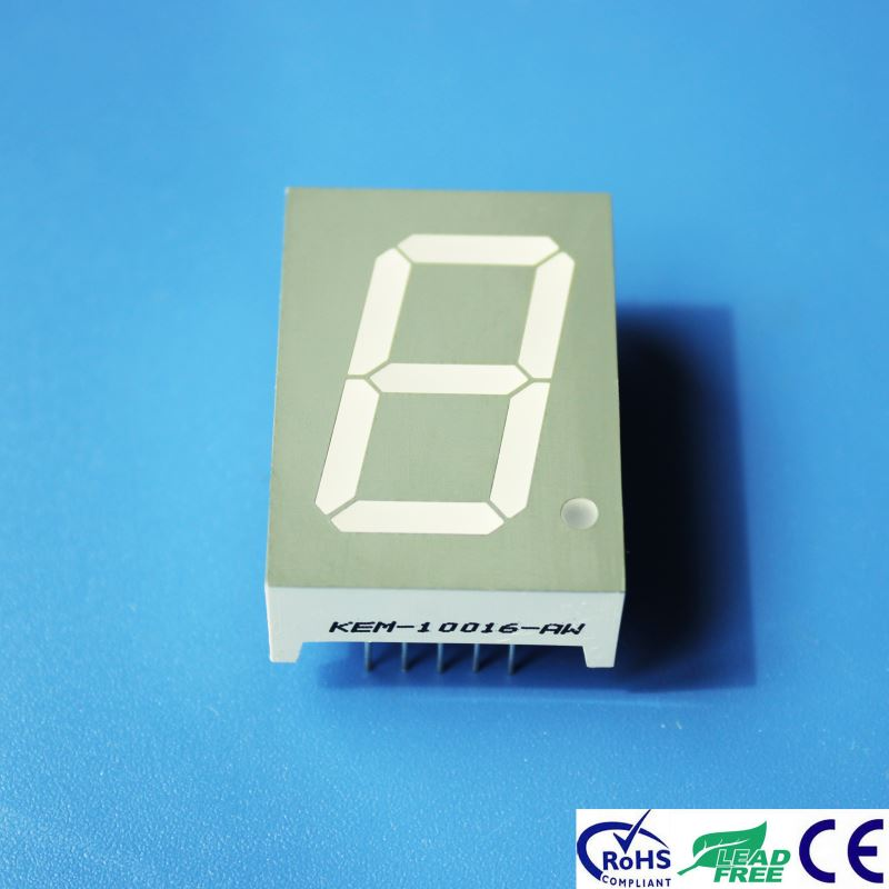 1 inch 7 segment led display