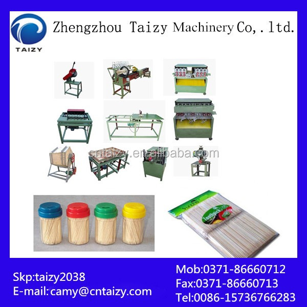 Low price Toothpick and chopstick making production line | toothpick making machine for sale