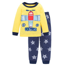 Airplane pattern cute boys bella canvas t shirt with long sleeve