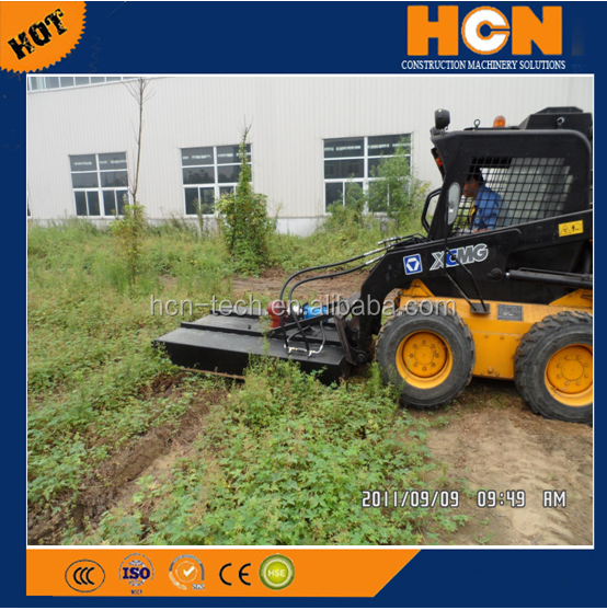 HCN brand 0508 series hydraulic brush cutter mover for skid loader