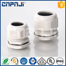 Plastic waterproof connector gland cable gland selection pg type hawke cable gland with great price