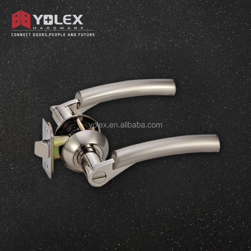 China factory new style best selling zinc alloy lever handle tubular lever lock
