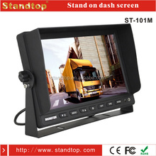 10.1 inch stand on dash reverse lcd monitor for truck
