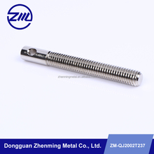 galvenized iron threaded rod cnc machine screw stud for cleaning machine