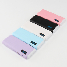 Fast charging Imitation leather surface power bank charger 6500mah for Samsung note 8/ S8/ C8