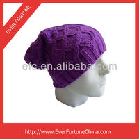 Wholesale winter hats slouch long knitted beanie