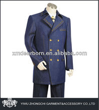 mens denim suits