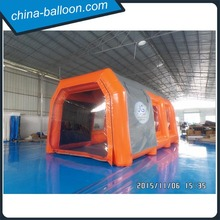 Cheap mobile or car inflatable paint booth/ inflatable spraying booth/ inflatable spray booth