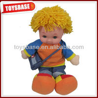 Lovely intelligent rag dolls for babies