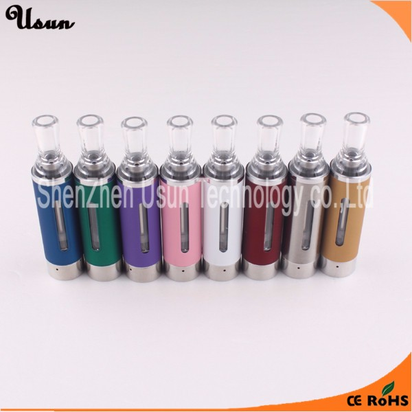 Wholesale changeable coil head mt3 clearomizer 1.6ml evod portable dry herb vaporizer