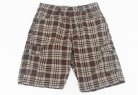 Business casual plaid shorts, apparel stock