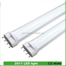 Reasonable price special CE,ROSH,EPISTAR dlc 1.2m 2g11 led tube 15w