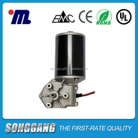 Welding Machine application 65W 24V 60kg.cm 210rpm Small DC Micro Worm Gear Motor SG-P76