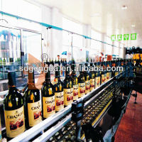 wine filling and bottling machine