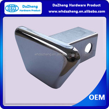 Hitching Tow Hook Covers Chrome Finish Metal