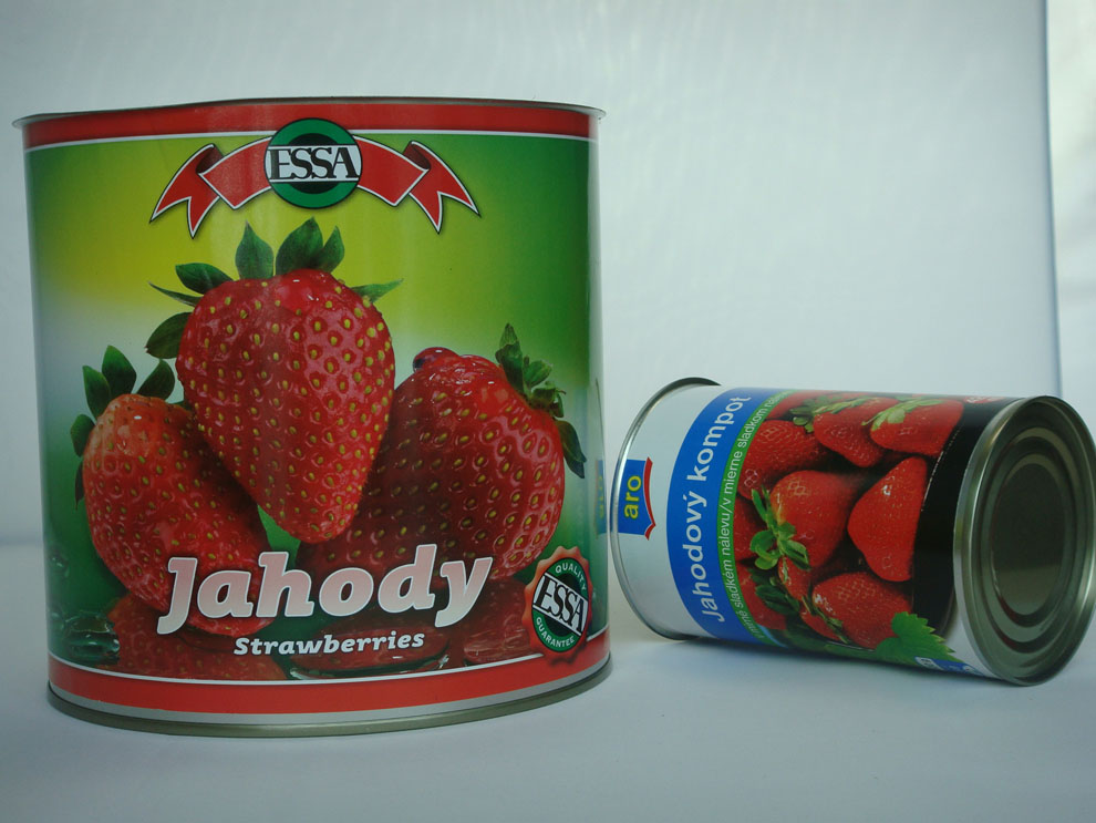 Choice Grade Canned Strawberry,Canned Fruit,Canned Food with private brand