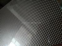 New 3# Texture 3mm Black ABS plastic Sheet 420*420mm