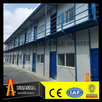 two storey living comfortable prefab container houses made in China
