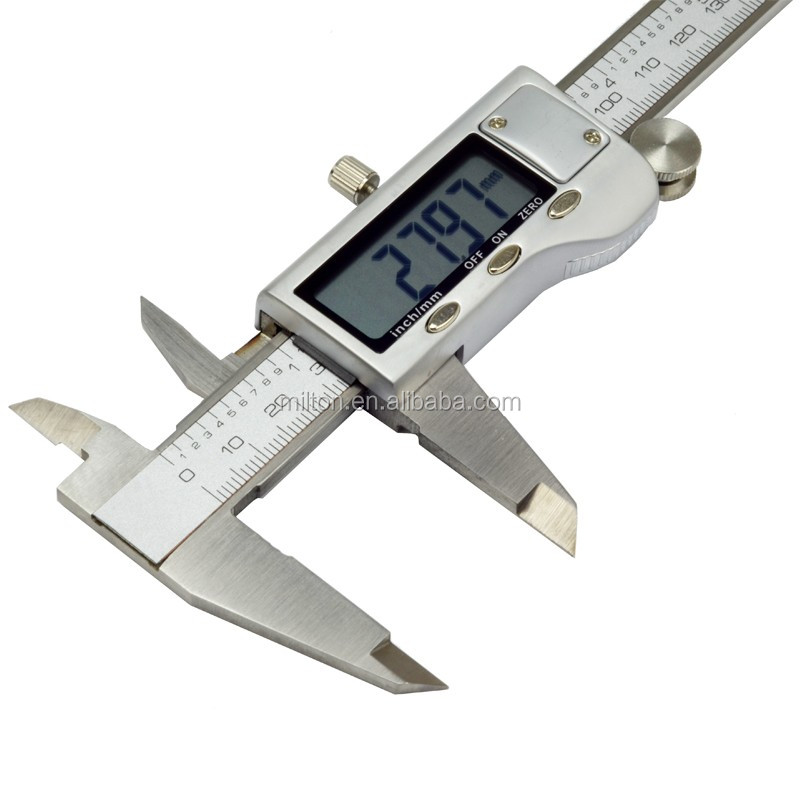 Metal-housing Digital Caliper Electronic vernier caliper metal case 150MM 0.01