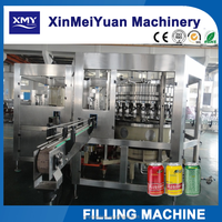 China supplier Automatic can soft drink filling machine / packing machine in zhangjiagang