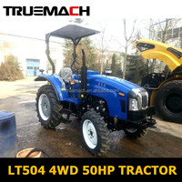LT504 4WD 50HP Farm Wheel Tractor