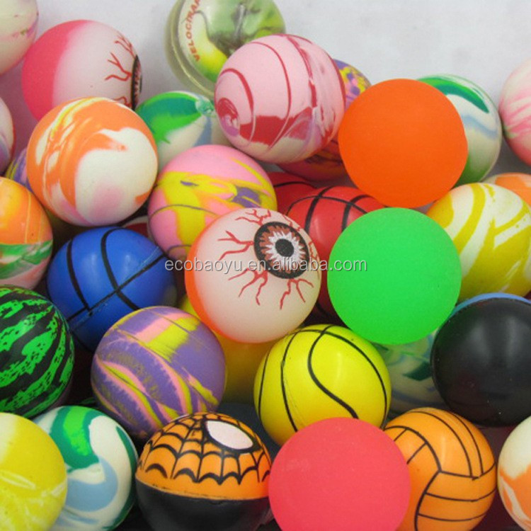32mm Inflatable Bouncy Ball/Vending Machine Bouncy Ball Wholesale