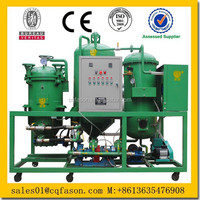New condition double stage vacuum filtration double oil car