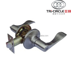 High Quality Tubular leverset door lock TC860BK-SC