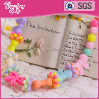 fashion jewelry wholesale handmade acrylic beads strand children necklaces