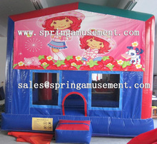 Hot sale inflatable art panel bouncer,inflatable jumping castle SP-PP012