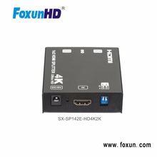 2 ports ultra HD 4K HDMI Splitter 1x2 HDMI Splitter 1 in 2 out Support 4K@60hz HDMI 2.0 3D FOR HDTV