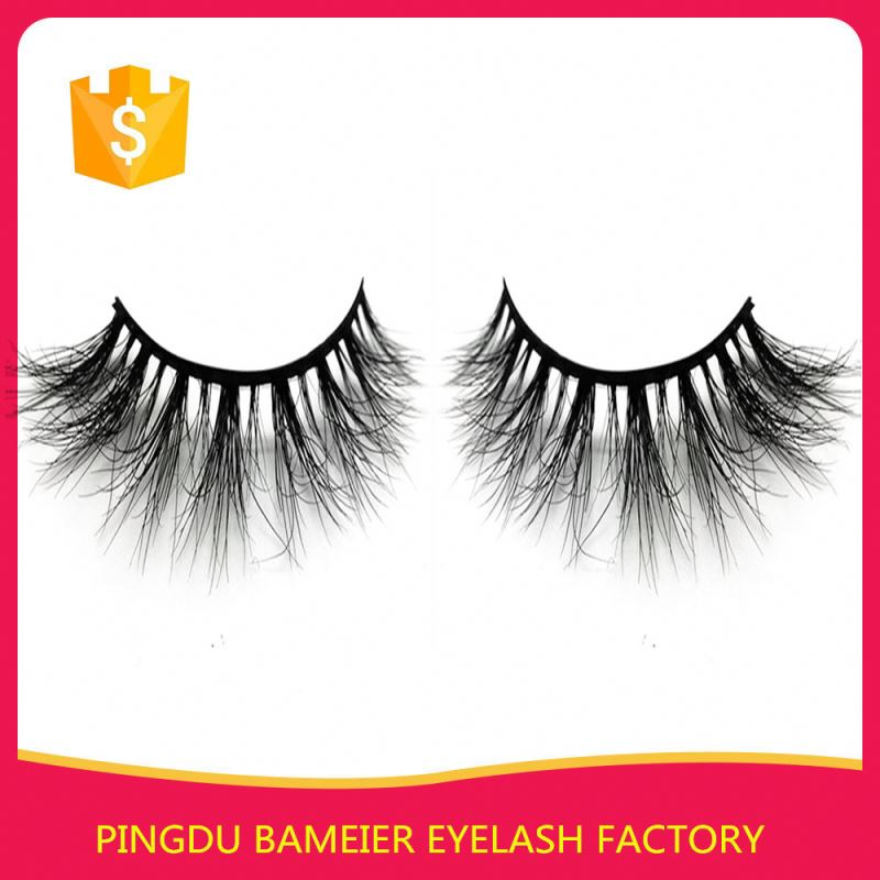 Exterm Design Faux Mink Eyelashes High Qulaity Mink Lashes Clear Band