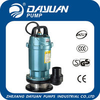 dayuan hot sale QDX 1'' 1.5m3/h water pump by robin engine