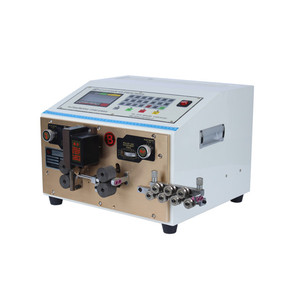 Automatic two wires electric wire cutting and stripping machine for sale